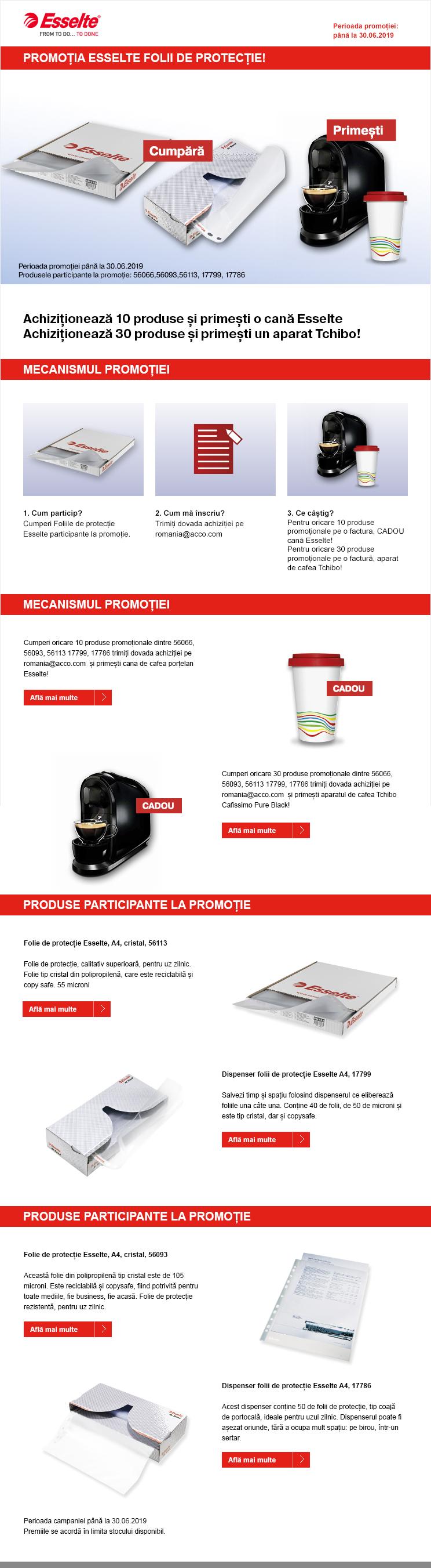 Achizitioneaza produse de papetarie si birotica Esselte de la OfficeClass si castigi premii!