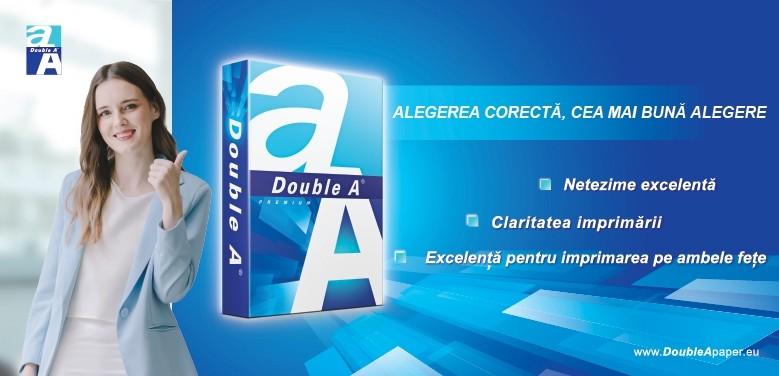 Cumpara hartie copiator Double A de la OfficeClass pentru rezultate excelente!